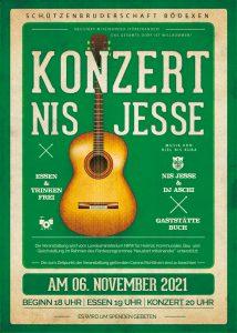 Plakat Konzert Nis Jesse
